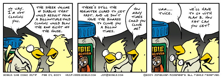 Zombie Peanut Butter